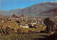 BR11018 Sion Valais vue generale   switzerland