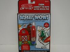 Melissa & Doug  ''Water Wow'' FARM CONNECT THE DOTS WATER-REVEAL PAD