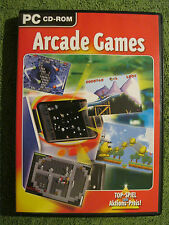 PC CD Rom Spiel Arcade Games Klassiker 7 Actionreiche Spiele In Neuem Gewand