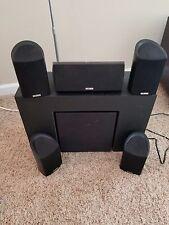 Polk Audio 5.1 System- 4x RM101 speakers, 1x RM202 Center Speaker, 1x RM6880 Sub