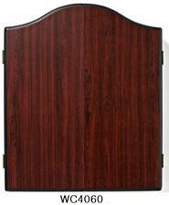 NEW WINMAU DART BOARD CABINET (Rosewood) easywipe scoring panels *AU Seller!*