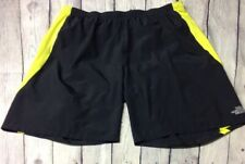North Face Men's XL Swim Trunks/Shorts Black & Yellow Preowned