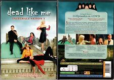 DEAD LIKE ME - Saison 1 - Coffret 4 Boitiers Slim - 4 DVD -OCCASION