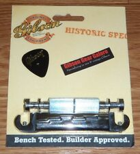Gibson Les Paul Tailpiece Lightning Wrap Around Bar Nickel Historic Guitar Parts