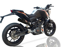 KTM Duke 390 2013-2014 IXIL OVC-11 Slip on Exhaust Dual Silencer Black