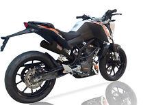 KTM Duke 390 2013 - 2016 IXIL OVC-11 Slip on Exhaust Dual Silencer Black
