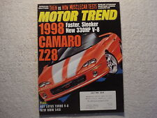 Motor Trend 1996 July Shelby GT500KR Camaro SS Z28 Pontiac Grand Prix GMC Safari