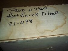KUT KWICK  HYDRAULIC  FILTER  PART  NUMBER   21-498
