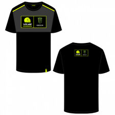 OFFICIAL GENUINE VALENTINO ROSSI VR46 MONSTER ENERGY ACADEMY MENS T SHIRT