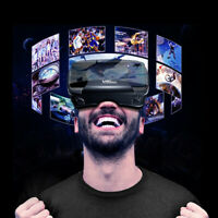VR 3D Glasses Box Stereo Virtual Reality Cardboard Headset Helmet Bluetooth Pg