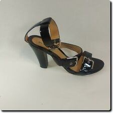 BCBG Girl Black Buckle Heels