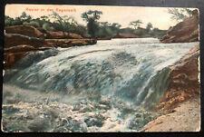1910 Karibib German South West Africa Picture Postcard Cover Rainy Season