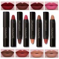 19 Farben Make up Pen Matt Lippenstift Wasserdicht Lippen Stift Velvet Lip Glo_