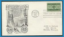US Stamps 1955 592 FDC États-Unis Michigan State College Pennsylvania University