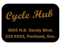 Cycle Hub Motorcycle Dealer Decal Transfer Sticker DQ130 BSA Norton
