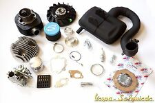 VESPA Kit de Tuning PX 80 Niveau 2 DR 135 cm³ Carburateur 24 Polini Filtre à air