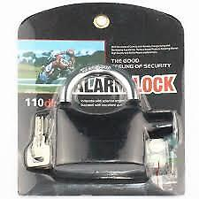 Siren Alarm Lock With Keys Anti-Theft Electronic Padlock