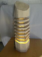 "Holz-Deko-Lampe ""Nur Natur"", massiv Fichte, 3W LED-Strahler, Höhe ca. 65,5 cm"