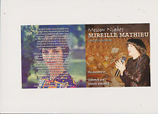 Mireille Mathieu * MOSCOW NIGHTS * Red Army Chorus *18 Tracks *Concert in Moscow