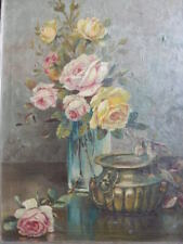 Oil Painting Roses for sale | eBay