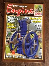 STATIONARY ENGINE MAGAZINE May 2013 No.470 Wolseley Millot Ruston Petter AV1