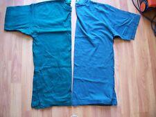 2 VERDE Cotone a Maniche Corte Scollo Tondo T Shirts da Burton & Unbrande, taglia M