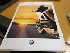 NOS NEW Vintage Brochure BMW 1991 Motorcycles