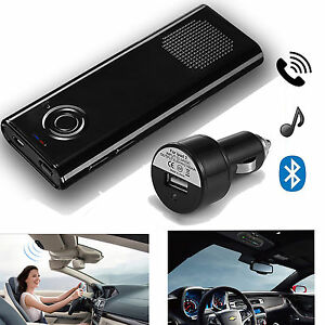 Auto Car Kit Wireless Bluetooth Stereo Music Speaker for iPhone Samsung S9 S8