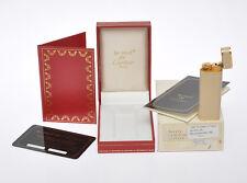 Cartier original vintage 1980 Cream enamel lighter new in box