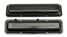 59-67 Chevy Small Block Paintable Script Valve Covers (Sold as a Pair)