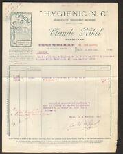"NICE (06) USINE de PRODUITS NETTOYANTS HYGIENIC ""Claude NIKEL"" en 1922"