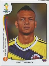 N°195 FREDY GUARIN # COLOMBIA STICKER PANINI WORLD CUP BRAZIL 2014
