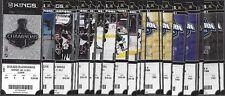 2012-2013 NHL LA KINGS UNUSED HOCKEY ENTIRE SEASON TICKETS ROAD TO STANLEY CUP