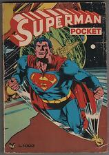 SUPERMAN  POCKET cenisio   N. 0 zero (1) Supplemento a SELEZIONE N.9 difettoso