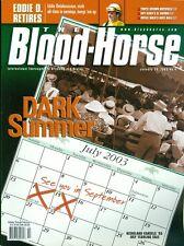 2003 The Blood-Horse Magazine #4: Keeneland Cancels July Sale/Eddie Delahoussaye