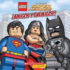 LEGO Dc Super Heroes: ¡amigos y Enemigos! by Trey King (2015, Picture Book)