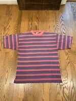 VTG 1990s Striped Shirt Alternative Grunge Nirvana Supreme Stussy Guess Jeans