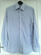 Unbranded Striped Cotton Blend Button Cuff Men's Formal Shirts