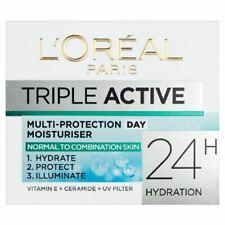 L'Oreal Triple Active Multi-Protection Day Moisturiser Normal/Combi Skin 50ml