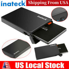 "Inateck 2.5"" Enclosure USB3.0 HDD SDD SATA External Hard Drive Disk Case Adapter"