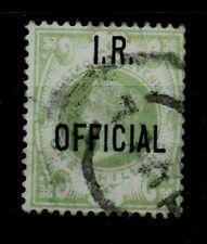 GB Victoria  SGO15  1s Green O/P IR Official  as scan cv £375