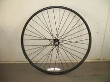 "Black Steel Front Wheel from a 26"" Bike"