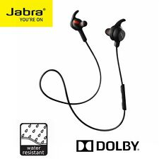 Bluetooth Headset Jabra Rox Wireless Stereo Earbuds Headphone Android Black