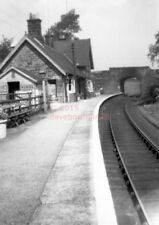 PHOTO  SCALBY RAILWAY STATION VIEW AND BUILDING 4/12/39 SCARBOROUGH & WHITBY RAI