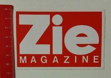 Aufkleber/Sticker: Zie Magazine (24021718)