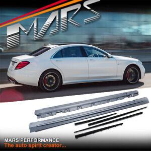 AMG S63 Style Side Skirts & Trim for Mercedes-Benz S-Class W222 Sedan BodyKit