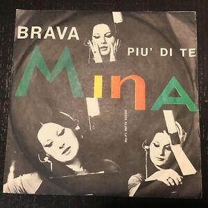 45 giri MINA Brava / Più Di Te (I Won't Tell) 1965 RI-FI RFN 16106  RARO