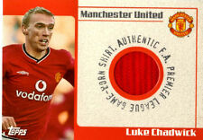 Luke Chadwick Topps Man United Shirt Card 2002 **NEW SALE PRICE ** FREE SHIPPING