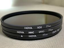 Set of HOYA Filters with Filter Case - $140+ Retail