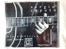 SERGIO CAPUTO Blu elettrico cd singolo PR0M0 RARISSIMO